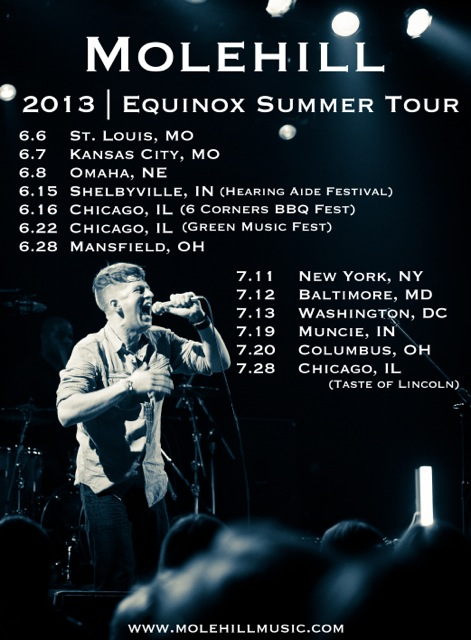 Molehill Summer Tour (HD Poster)